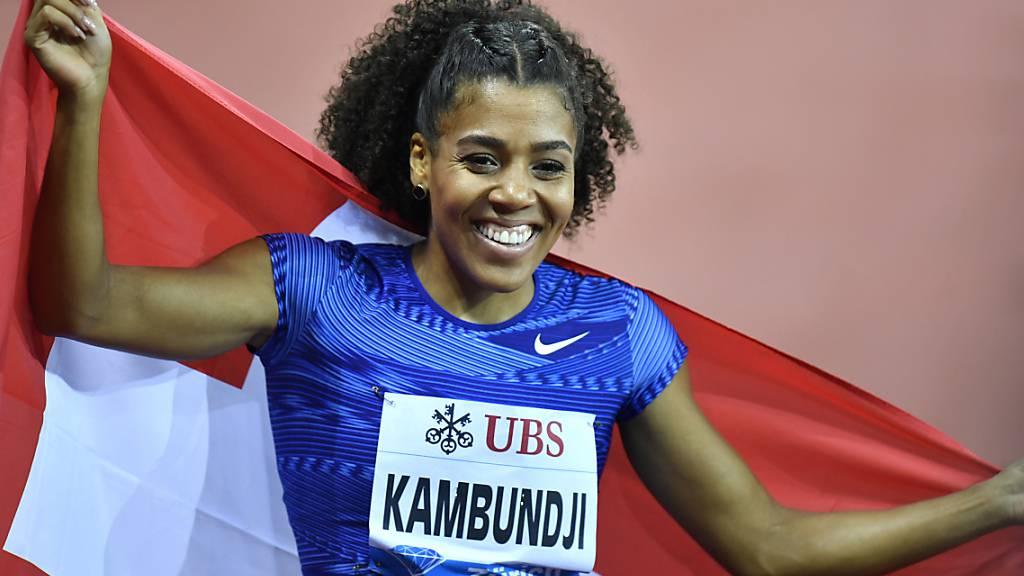 Mujinga Kambundji ist eine der grössten Schweizer Hoffnungen auf ein Top-Resultat an der WM