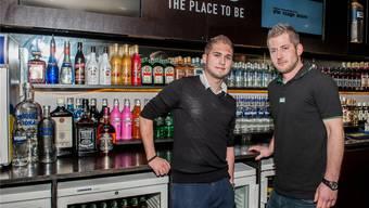 Die neue Geschäftsführung des Klubs LWB: Nicolas Manouk (links) und Tobias Klasen. Philippe Neidhart