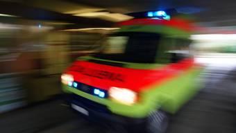 Die beiden Schwerverletzten wurden in Ambulanzen in ein Spital gebracht. (Symbolbild)