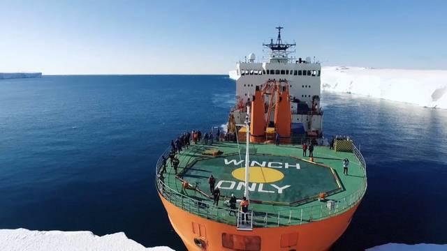 Bildgewaltige Expedition: Forscher umrunden Antarktis