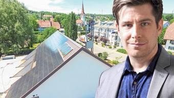 Daniel Hölzle, Aargauer Grünen-Präsident.