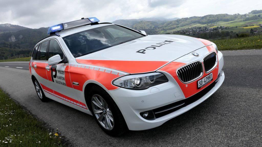 Der Kantonspolizei Solothurn konnte am Samstag einen bewaffneten Mann davon überzeugen, sich friedlich zu ergeben.