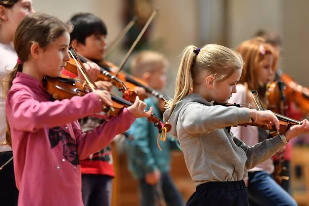 «Generell ist das aber auch eine sehr gute Klasse» sagt Musiklehrerin Rüegg.