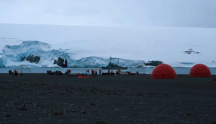 Metallica auf der Antarktis