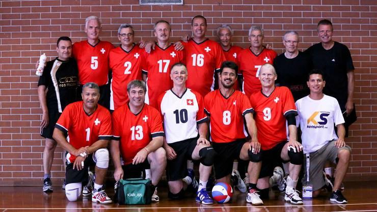 Das Schweizer Volleyball-Herrenteam 50+ überzeugte an den World Masters Games für über 35-jährige Athleten mit Rang 5.