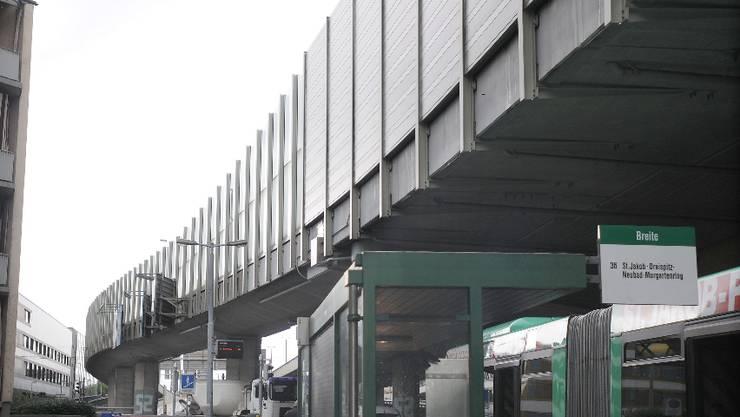 Zumindest eine Überdeckung der Osttangente ist vom Bund geplant. Geprüft wird zudem ein Miteinbezug der parallel verlaufenden Eisenbahnlinie.