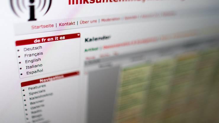 Die Website galt als wichtige Austauschform unter Linksextremen. Nun liess das deutsche Innenministerium ihren Betrieb verbieten.
