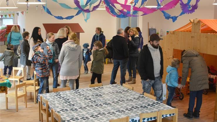 Mit einer grossen Feier wurde der Kindergarten Vogtsmatte in Laufenburg am Samstag eröffnet.