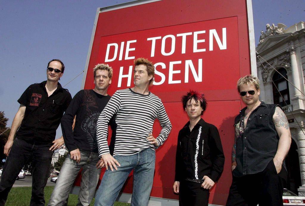 Die Toten Hosen (© Getty/Keystone)