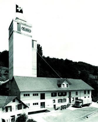 Die Knecht Mühle im Jahr 1964.