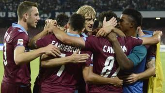 Grosser Jubel bei Lazio über Qualifikation für die Champions-League-Playoffs