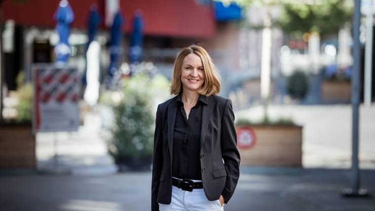 Susanne Sahli, die neue Wirtschaftsförderin von Grenchen