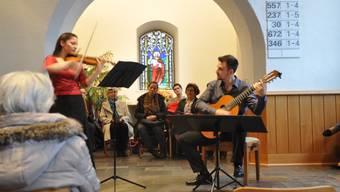 Karin Keiser-Mazenauer und Federico Ahumada zeigten ihr ganzes musikalisches Können.