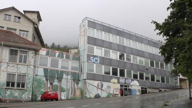 Die Gebäude der ehemaligen Baumgartner Frères am Schmelzirain.