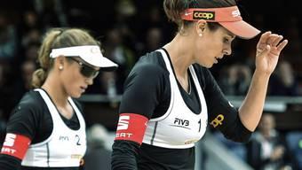 In Holland im Sechzehntelfinal ausgeschieden: Anouk Vergé-Dépré und Isabelle Forrer (Archivbild)