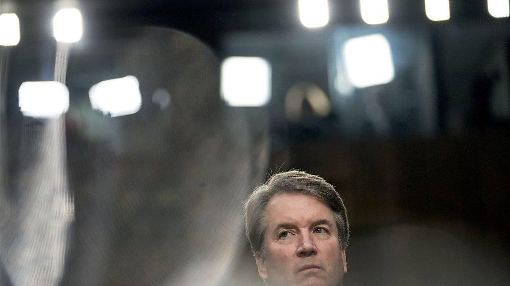 Der von US-Präsident Trump nominierte Supreme-Court-Richter Kavanaugh wurde am Dienstag von einem Senatsausschuss angehört.