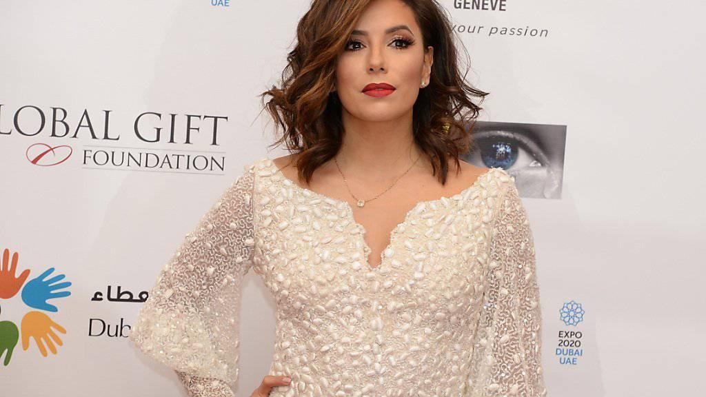 US-Schauspielerin Eva Longoria - hier am Samstag am Dubai Film Festival - ist offenbar verlobt.