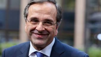 Der griechische Premierminister Antonis Samaras (Archiv)
