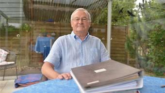 Roland Zwahlen, Herr über die Erträge der Adrian-Girard-Stiftung