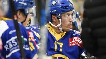 Der Davoser Finne Perttu Lindgren blieb bei seiner Rückkehr in die Heimat ohne Torerfolg)