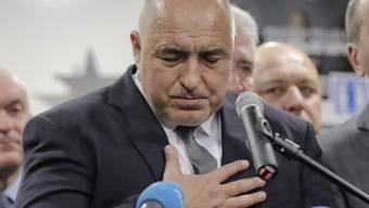 Absolute Mehrheit verfehlt: Ex-Premier Boiko Borisov von der bürgerlichen GERB-Partei darf sich trotzdem Wahlsieger in Bulgarien nennen.
