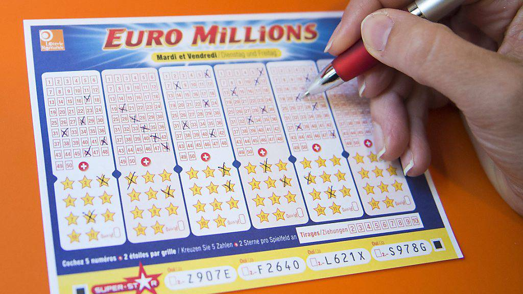 Glückspilz räumt über 94 Millionen Franken bei Euromillions ab