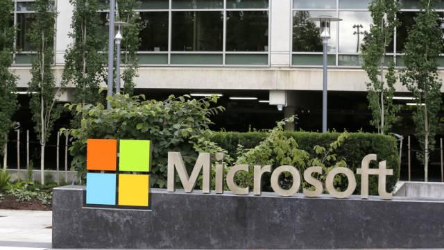 Logo des US-Konzerns Microsoft (Archiv)