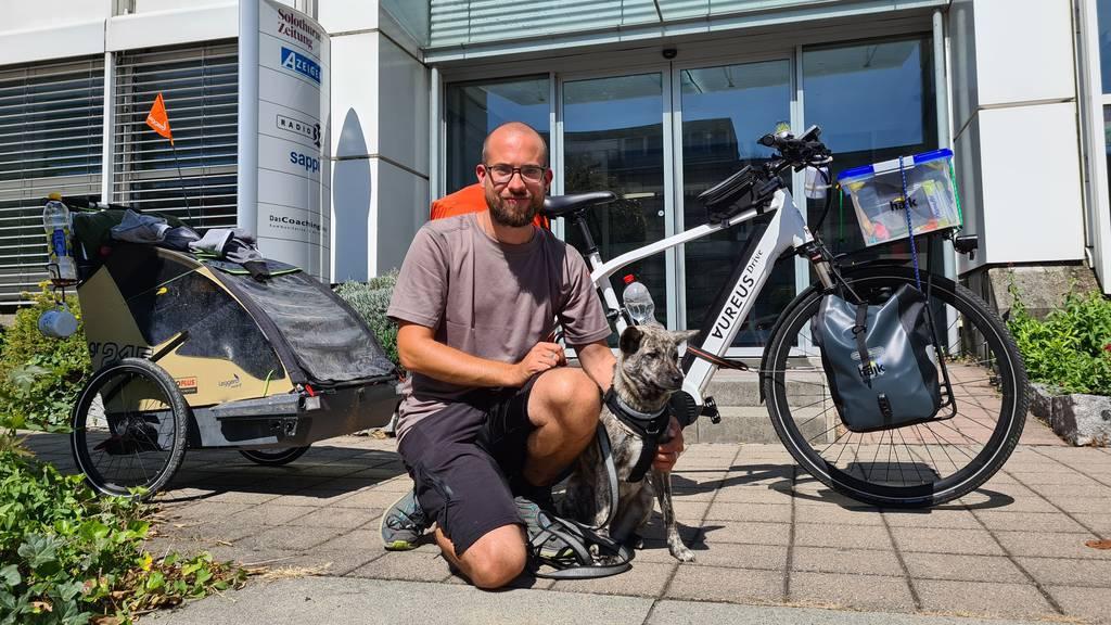 Mit dem E-Bike 20'000 Kilometer quer durch Europa für einen guten Zweck