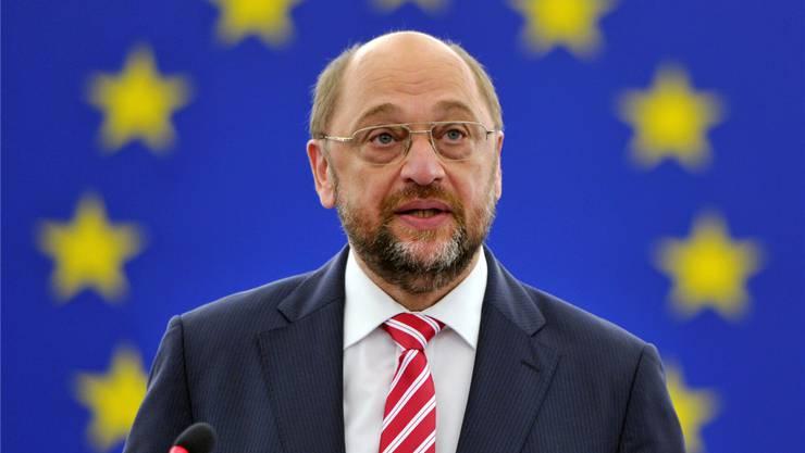 Wer folgt auf EU-Parlamentspräsident Martin Schulz? keystone