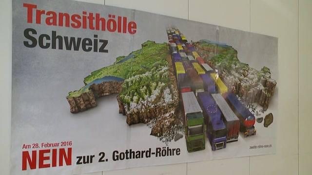 Kampf gegen 2. Gotthardröhre