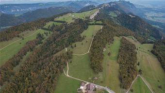 Blick über die Grenchenberge.