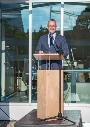 Ansprache des Baselbieter Gesundheitsdirektors Thomas Weber