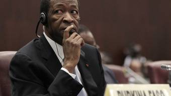 Blaise Compaoré, der vor fast einem Jahr nach 27 Jahren Herrschaft gestürzt wurde (Archiv)
