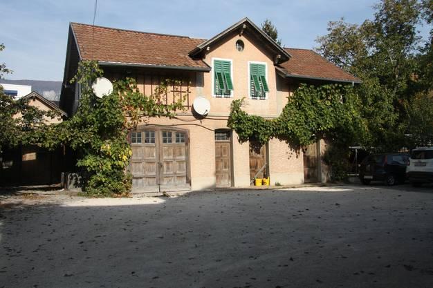 Bielstrasse 160 162: Das hintere Haus und Annexbauten
