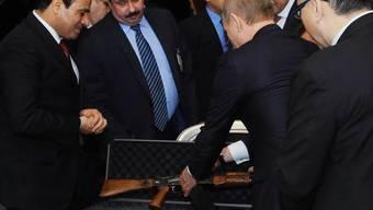 Putin auf Staatsbesuch in Ägypten