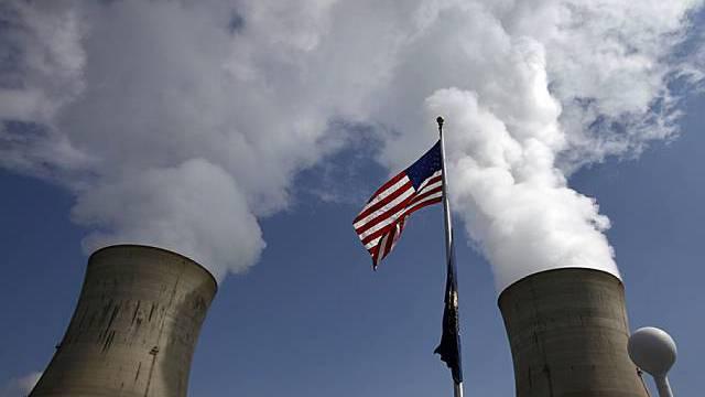 Kühltürme im Three Mile Island-Atomwerk