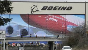 Fabrik des US-Flugzeugherstellers Boeing in Everett nördlich von Seattle. (Archivbild)
