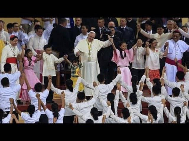 Philippinen: Papst begeistert die Millionen bei Abschlussmesse