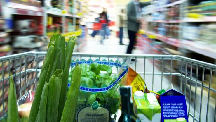 Bald sollen auch in Aarau Lebensmittel an Hilfswerke gehen. AZ/Archiv