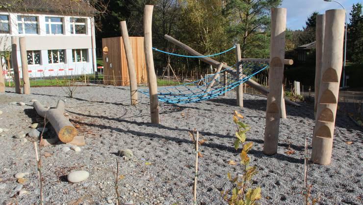 Neuer Spielplatz für die Bözberger Kinder