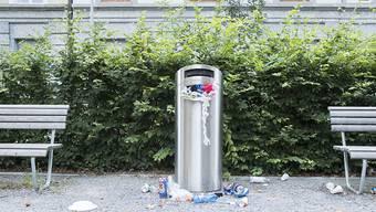 Weil auch die Abfalleimer immer häufiger überquellen braucht es mehr Stellenprozent im Biberister Werkhof. (Symbolbild)