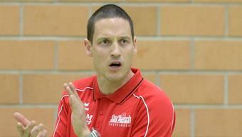 Der 35-jährige Timo Lippuner trainiert Sm'Aesch-Pfeffingen seit gut zwei Jahren. Sein Vertrag läuft bis 2018.