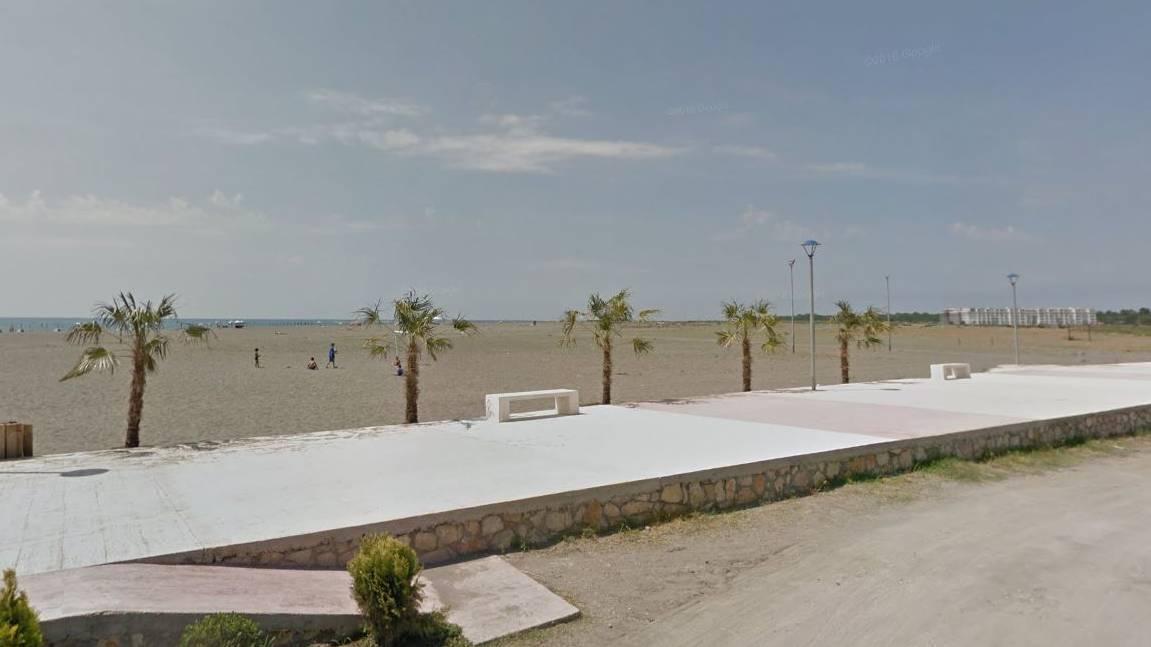 Der Vorfall geschah am Strand von Velipoja in Albanien.