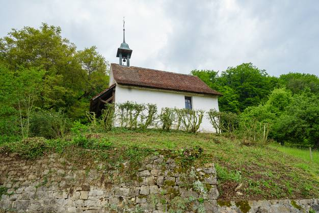 Die kleine Badkapelle Lostorf ist wieder sichtbar