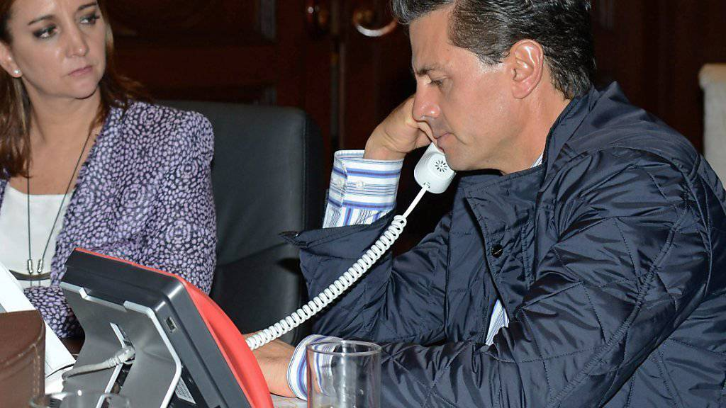 Telefonat in Krisenzeiten: Mexikos Präsident Peña Nieto fordert Aufklärung der Todesumstände seiner Landsleute in Ägypten