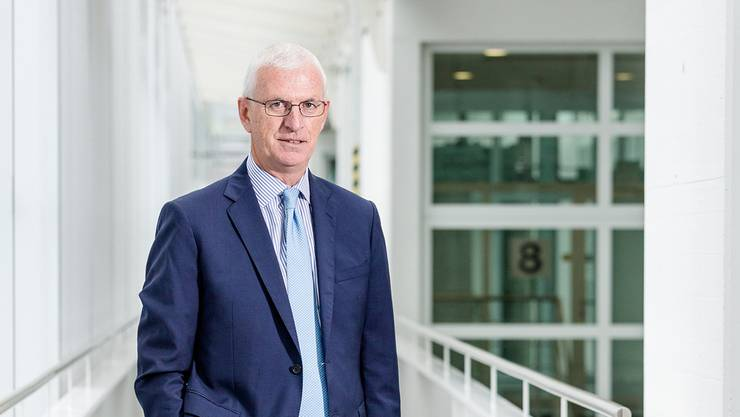 Von den USA nach Baden: Paul McElhinney, CEO des Power-Services-Geschäfts von GE, im Konnex-Gebäude.