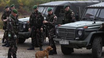 KFOR-Soldaten im Kosovo (Archiv)