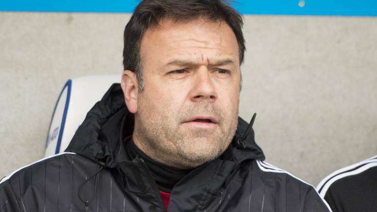Patrick Rahmen, der künftige Cheftrainer des FC Aarau.
