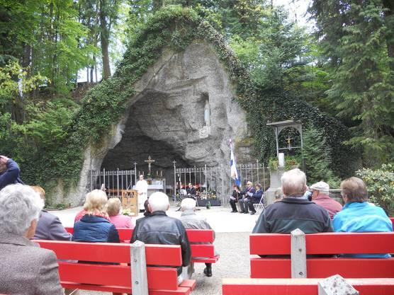 Maiandacht Lourdespilgerverein Baden und Umgebung