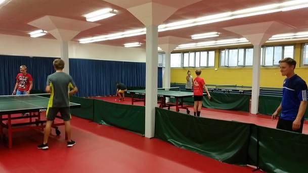 Lokal des Tischtennisclub Döttingen